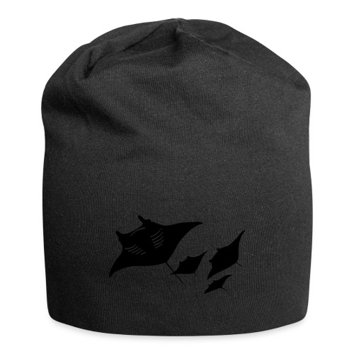 manta ray sting scuba diving diver dive - Jersey Beanie