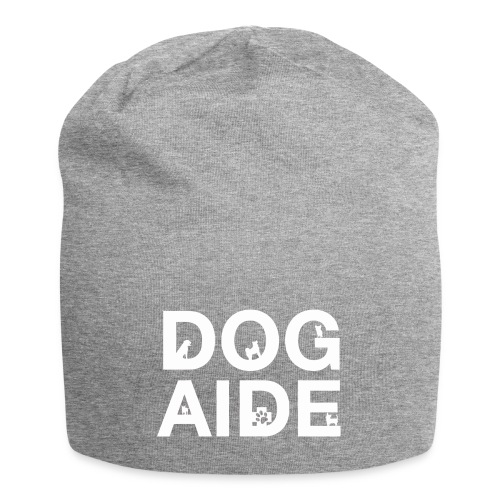 dog aide NEW white - Jersey Beanie