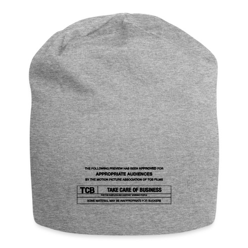 TCB Films Disclamer - Jersey Beanie