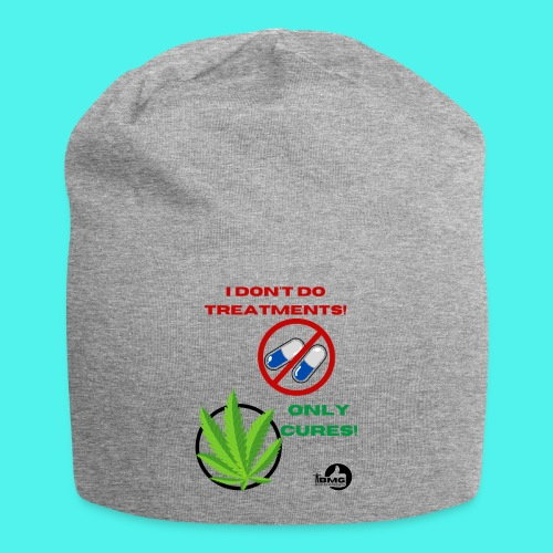 BMG- No treatments..Only Cures! - Jersey Beanie