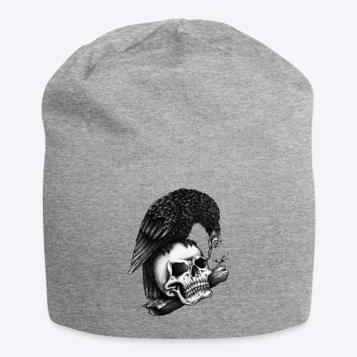 Skull Crow - Jersey Beanie