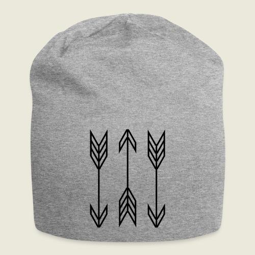 arrow symbols - Jersey Beanie