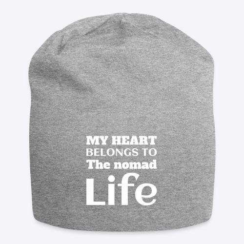 My Heart Belongs to the Nomad Life - Jersey Beanie