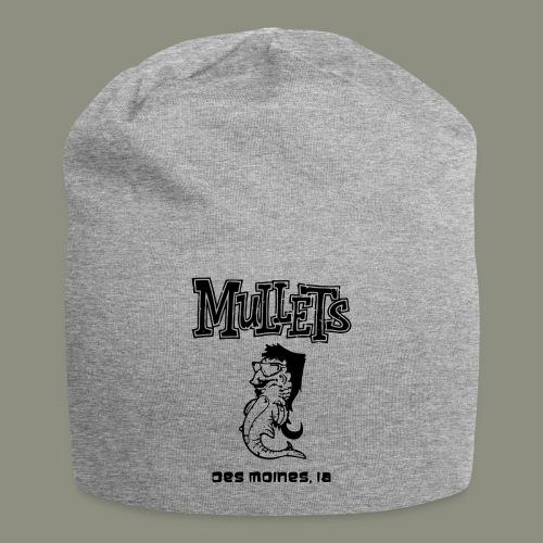 mulletmain black - Jersey Beanie