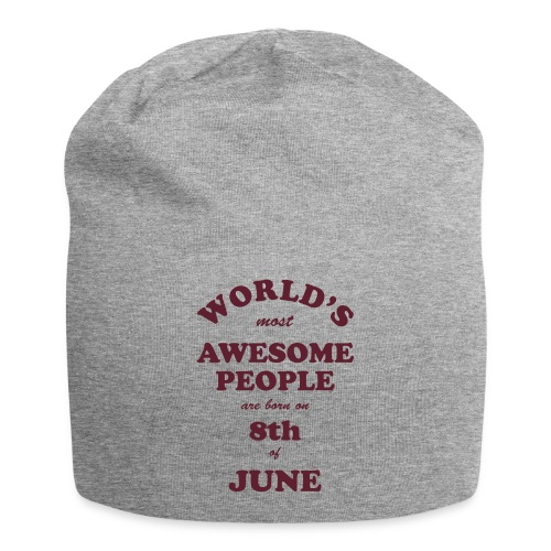 Most Awesome People are born on 8th of June - Jersey Beanie