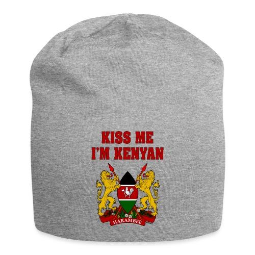 Kiss Me, I'm Kenyan - Jersey Beanie