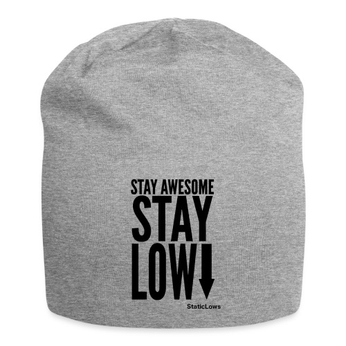 Stay Awesome - Jersey Beanie