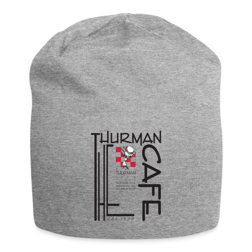Thurman Cafe Traditional Logo - Jersey Beanie