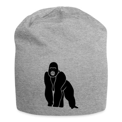 gorilla ape monkey king kong godzilla silver back - Jersey Beanie