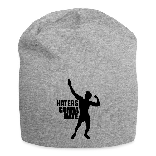 Zyzz Silhouette Haters Gonna Hate - Jersey Beanie