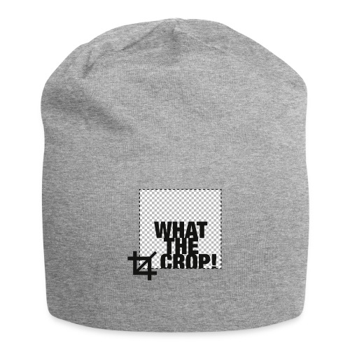 What the Crop! - Jersey Beanie