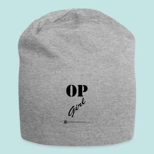 OP Girl (black) - Jersey Beanie