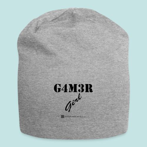 Gamer Girl (black) - Jersey Beanie