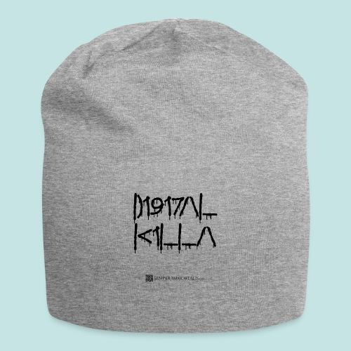 Digital Killa (black) - Jersey Beanie