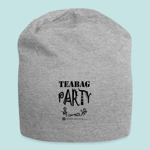 Teabag Party (black) - Jersey Beanie