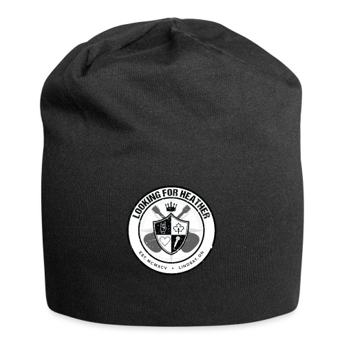 Looking For Heather - Crest Logo - Jersey Beanie