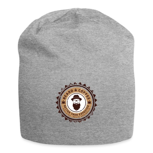 Beard and Coffee Merch - Jersey Beanie