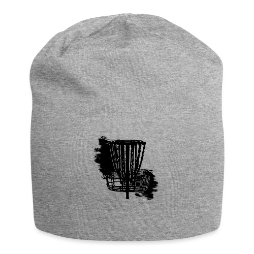 Disc Golf Basket Paint Black Print - Jersey Beanie