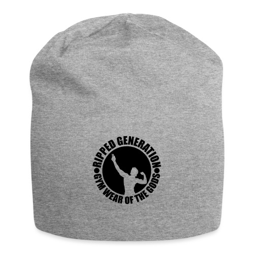 Ripped Generation Gym Wear of the Gods Badge Logo - Jersey Beanie