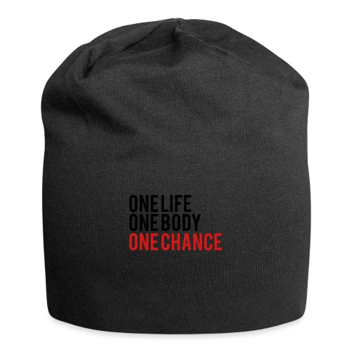 One Life One Body One Chance - Jersey Beanie