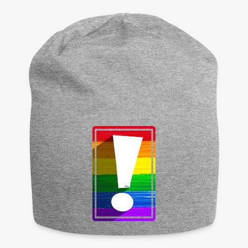LGBTQ Pride Exclamation Point - Jersey Beanie