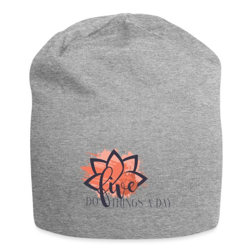 Do Five Things A Day Logo - Jersey Beanie