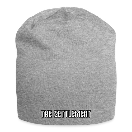 Band Name (Two-Color) | The Settlement - Jersey Beanie