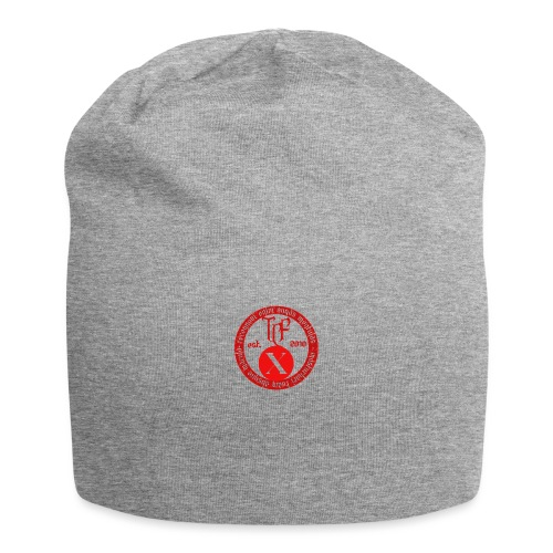 10th Anniversary Medallion - Red Marble - Jersey Beanie