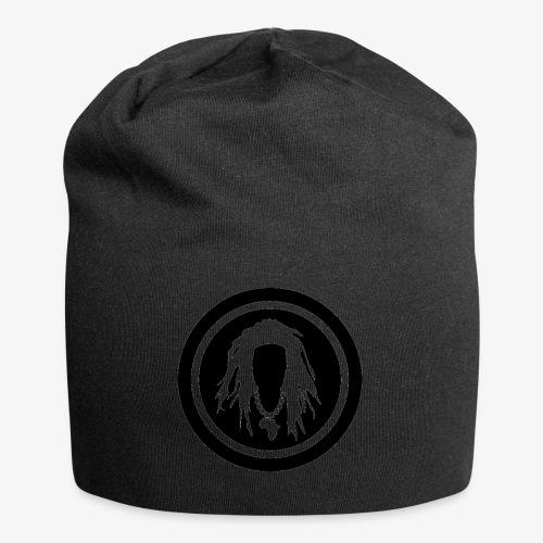 Black circle logo - Jersey Beanie