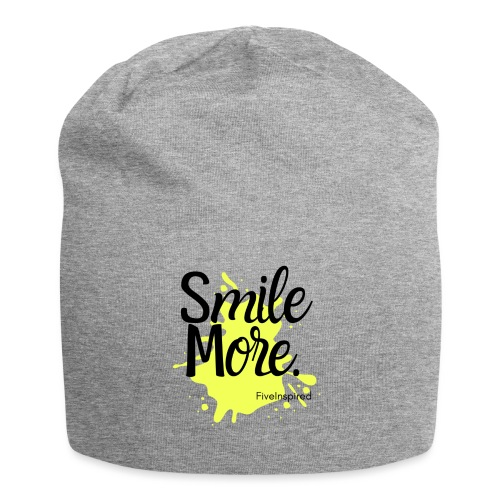 Smile More - Jersey Beanie
