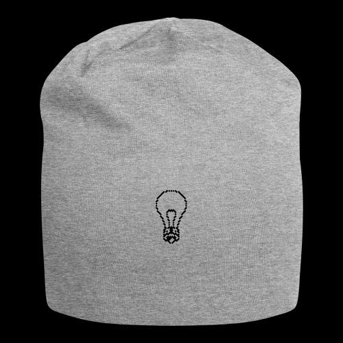 lightbulb - Jersey Beanie