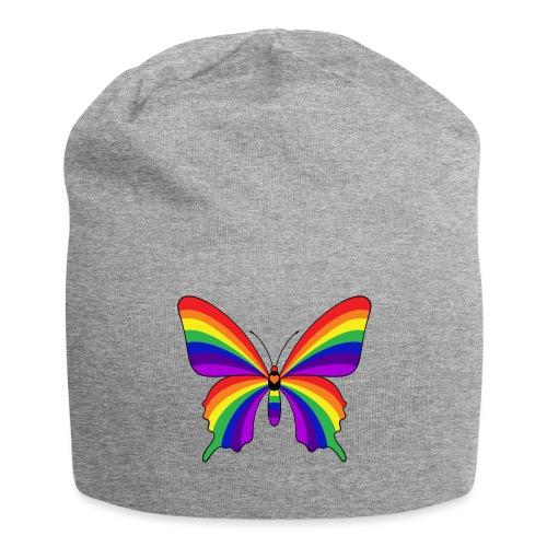 Rainbow Butterfly - Jersey Beanie