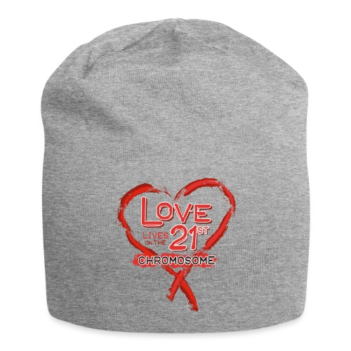 Down Syndrome Love (Red) - Jersey Beanie