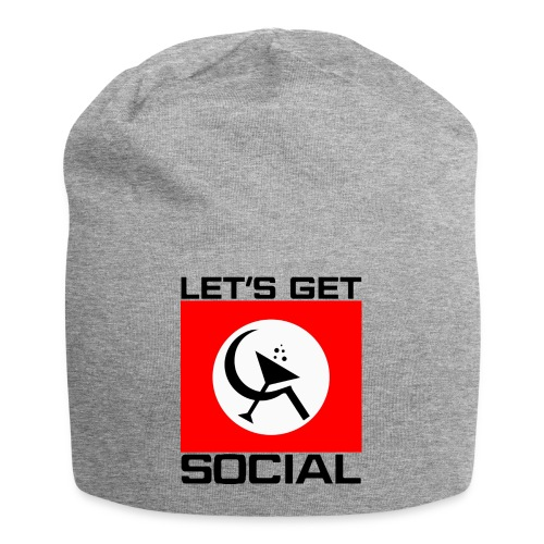 Let's Get Social as worn by Axl Rose - Jersey Beanie
