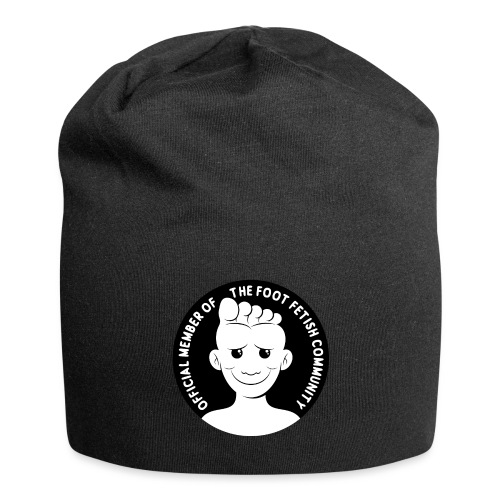 OFFICIAL MEMBER OF THE FOOT FETISH COMMUNITY - Jersey Beanie