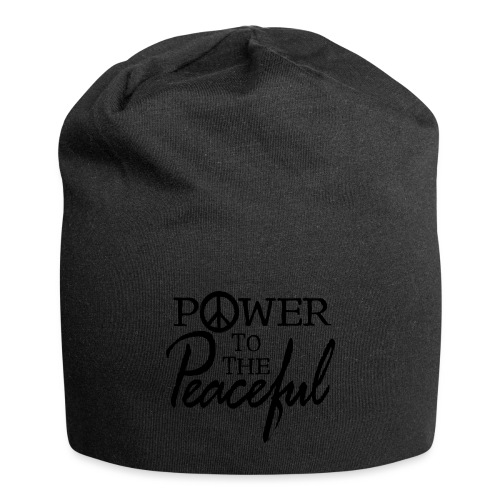 Power To The Peaceful - Jersey Beanie