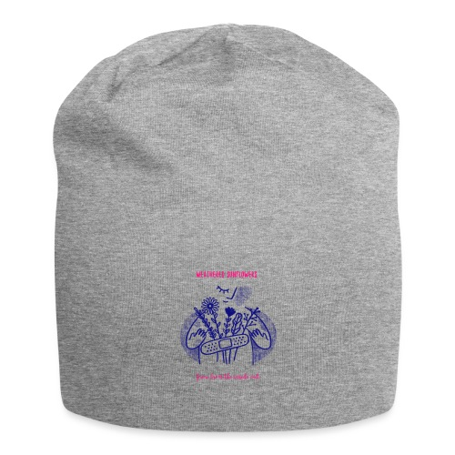 Weathered Sunflowers Grow From The Inside Out - Jersey Beanie
