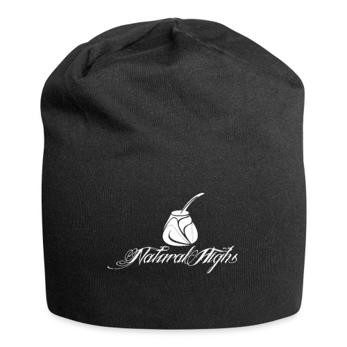 Natural Highs Logo In White - Jersey Beanie