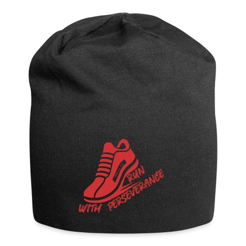 Run with perseverance - Jersey Beanie