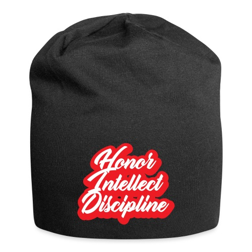 Honor Intellect Discipline - Jersey Beanie