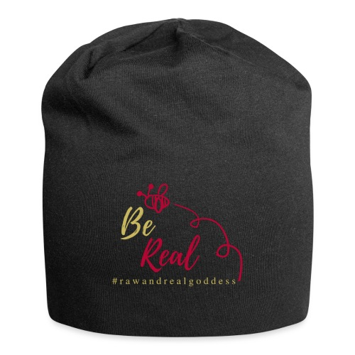 Be Real with Raw & Real Goddess - Jersey Beanie