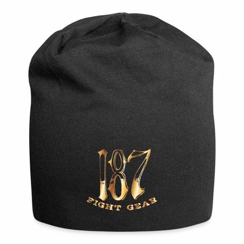 187 Fight Gear Gold Logo Street Wear - Jersey Beanie