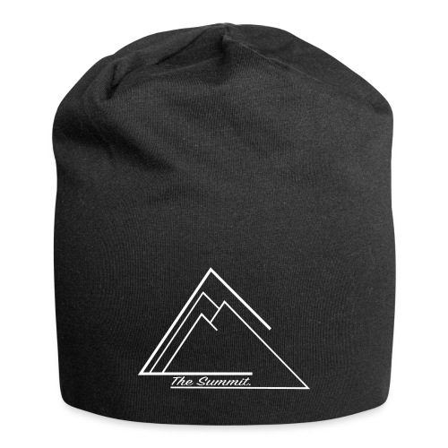 The Summit White Edition Small logo - Jersey Beanie