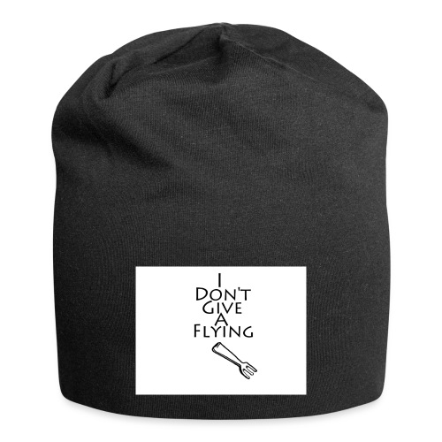 I Don't Give A Flying Fork - Jersey Beanie