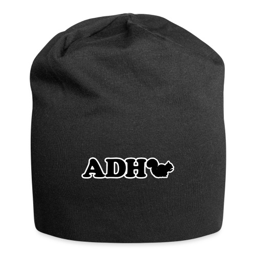 Funny ADHD Squirrel - Jersey Beanie