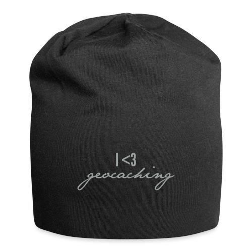 I love geocaching - Jersey Beanie