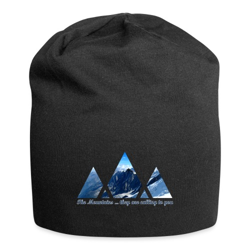 Calling Mountains - Jersey Beanie