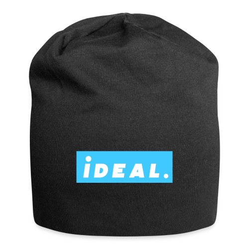 rare ideal blue logo - Jersey Beanie