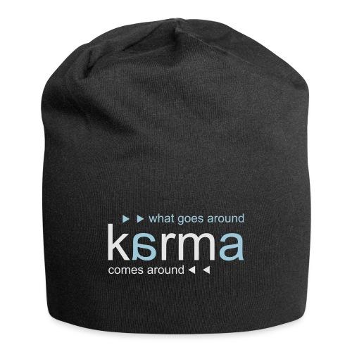 Karma Blue - Jersey Beanie