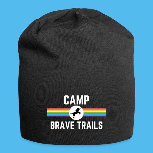 Brave Trails Triangle Rainbow Flag - Jersey Beanie